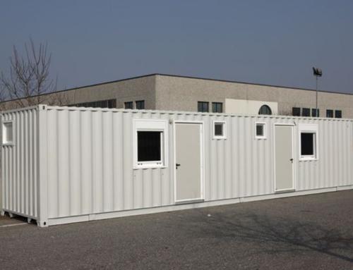 Container e monoblocchi prefabbricati per campi base, mense, dormitori